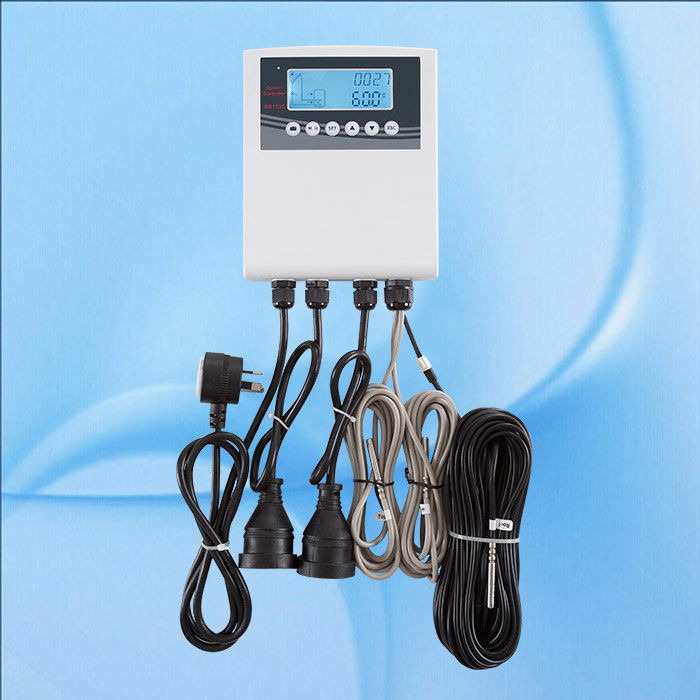 Professional Solar Hot Water Controller , Solar Thermal Controller 220V / 110V