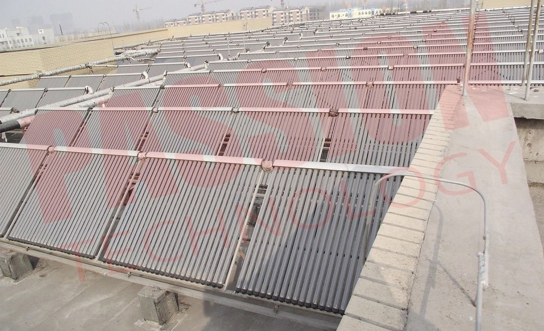 Centralized Solar Water Heating System Pressurized Heat Pipe Solar Power Collector