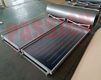 China 304 Outer Tank Integrated Mini Solar Water Heater Pressurized Blue Titanium fabriek
